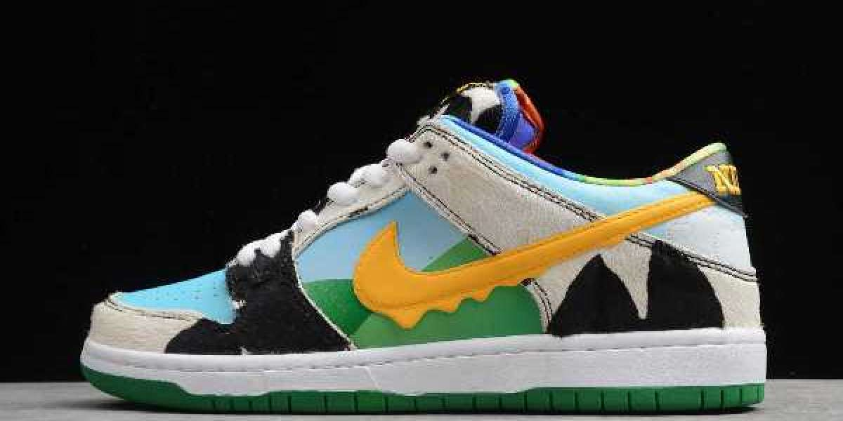Where To Buy CU3244-100 Ben & Jerry's x SB Dunk Low Chunky Dunky 2020