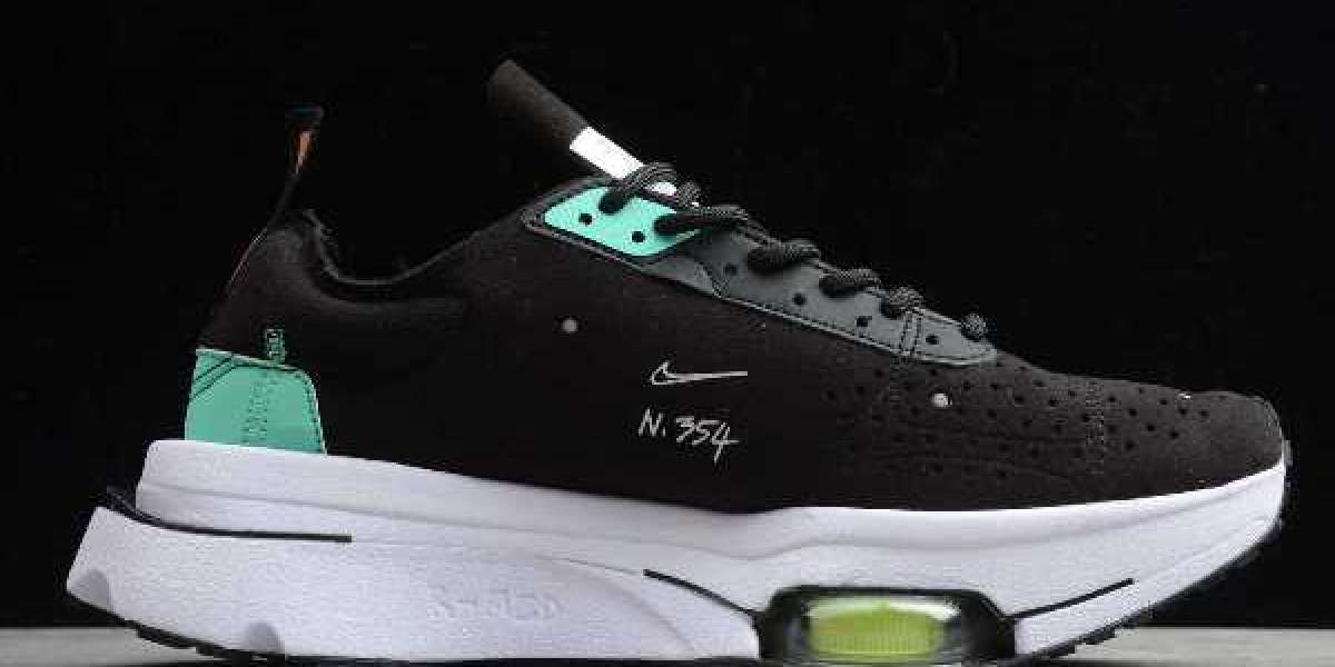 "Nike Air Zoom Type N.354 ""Menta"" makes you feel how cool it is to step on 4 air cushions!"