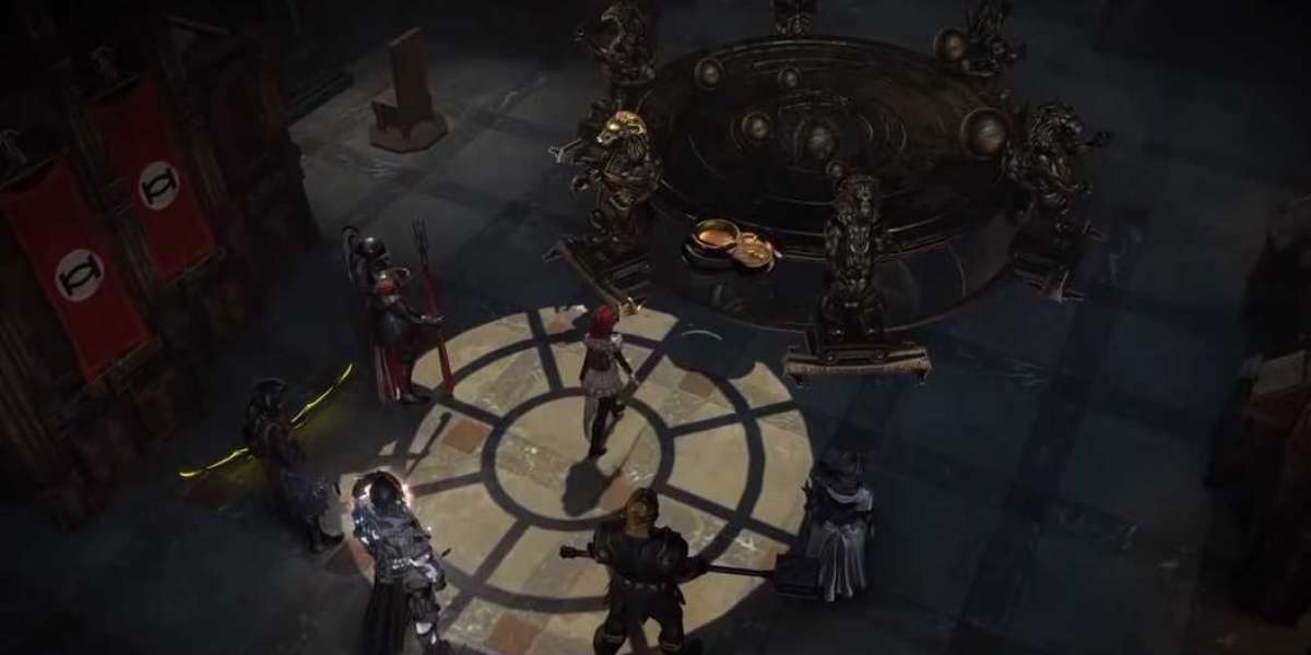 Path of Exile Cellphone Has Quality at the Center of the Layout