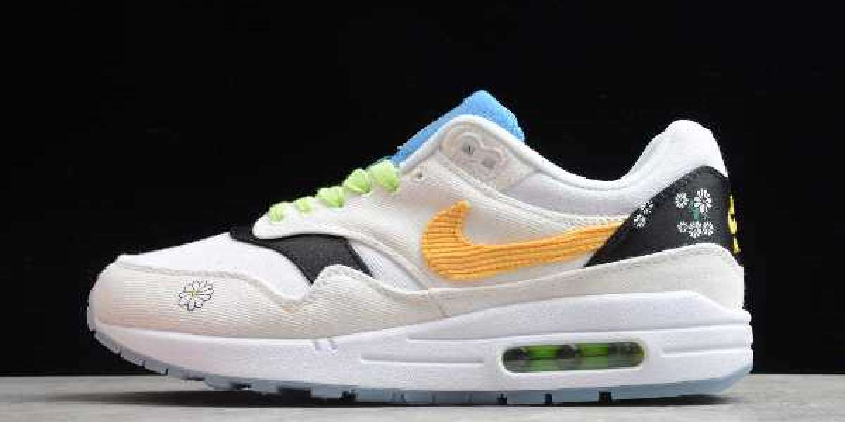 """Nike Air Max 1 """"Daisy"""" 2020 CW6031-100 is now on sale"""