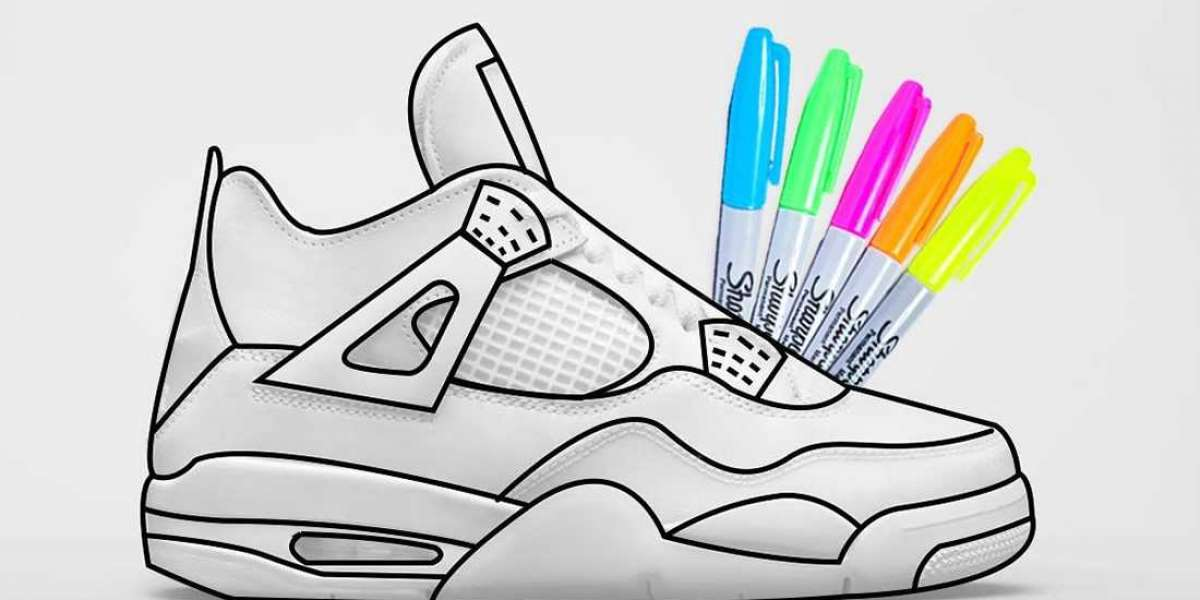 "DC4101-100 Air Jordan 4 GS ""DIY"" will releasing during Summer 2021"